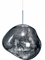 Tom Dixon Melt Chrome Pendant Light