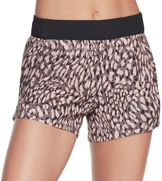 Skechers Women's Cheetah Print Shorts
