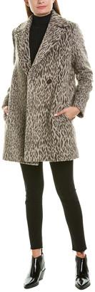 Cinzia Rocca Icons Notch Collar Wool-Blend Coat