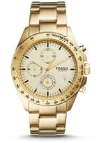 Fossil Sport 54 Chronograph Gold-Tone Stainless Steel Watch