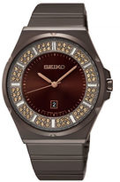 Seiko Conceptual Pave Hard-Coated Stainless Steel Watch