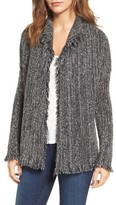 Velvet by Graham & Spencer Women's Melange Knit Cardigan