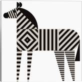 iCanvas Zebra Stripe by Greg Mably (Giclee Canvas)