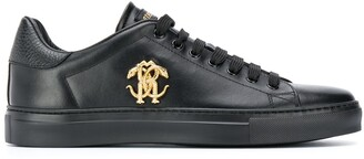 Roberto Cavalli Logo Low-Top Sneakers