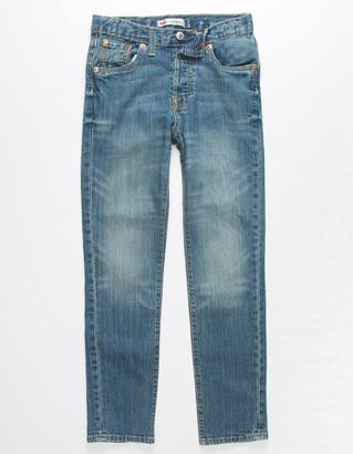 Levi's 501 Dark Wash Girls Skinny Jeans