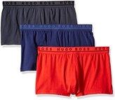 HUGO BOSS Men's 3-Pack Cotton Stretch Trunk