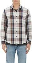 Outerknown Men's Cotton Plaid Shirt Jacket