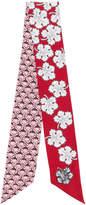 Fendi foulard à fleurs