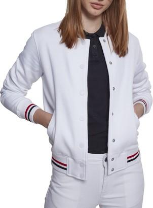 Urban Classics Women's 3-Tone College Track Jacket