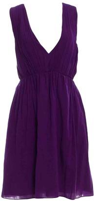 Alice + Olivia Alice & Olivia Purple Cotton Dress for Women