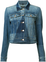 J Brand panelled denim jacket - women - Cotton - XS