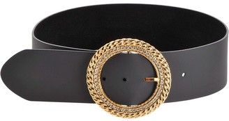 Pinko Crystal-Embellished Belt