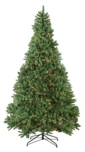 Northlight Pre-Lit Medium Buffalo Fir Artificial Christmas Tree-Clear Lights