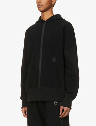 A-Cold-Wall* Textured cotton-blend hoody