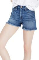 Madewell Women's The Perfect High Waist Denim Shorts