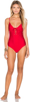 MinkPink Naive Heat One Piece Swimsuit