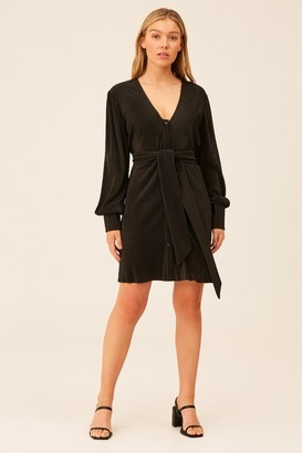 The Fifth RELAY LONG SLEEVE DRESS Black