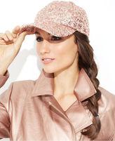 Collection XIIX Hat, Sequin Baseball Cap