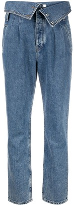 RE/DONE Foldover Waist Jeans