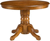 JCPenney Copley Cove 42 Wood Pedestal Dining Table