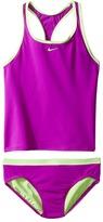 Nike Core Solid Racerback Tankini Girl's Swimwear