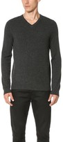 Vince Cashmere Essentials V Neck Sweater