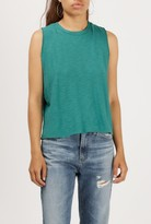 Azalea Burnout Sleeveless Crop Tank