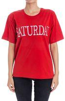 Alberta Ferretti Saturday Cotton T-shirt