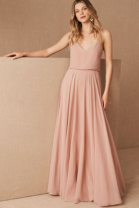 Jenny Yoo Inesse Dress By in Pink Size 14