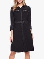 Damsel in a Dress Isidore Shirt Dress, Black