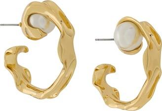Coup De Coeur Liquid Hoop Earrings
