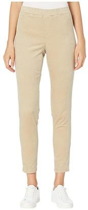 Eileen Fisher Organic Cotton Tencel Corduroy Jeggings (Maple Oat) Women's Casual Pants