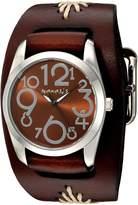 Nemesis Women's BBF109B Showgirl Series Analog Display Japanese Quartz Brown Watch
