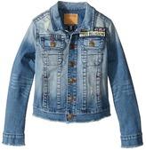 True Religion Emily Denim Jacket Girl's Coat
