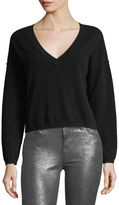 J Brand Josey Deep-V Cashmere Sweater