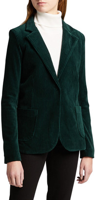 Majestic Filatures Corduroy One-Button Blazer