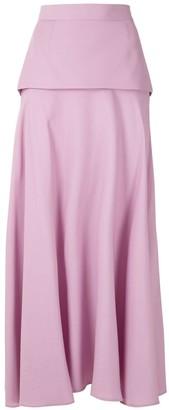 Reinaldo Lourenço Layered Midi Skirt