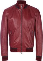 Dolce & Gabbana Siluro bomber jacket - men - Lamb Skin/Polyamide/Polyester/Virgin Wool - 48