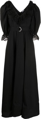 P.A.R.O.S.H. Cojour V-neck long dress