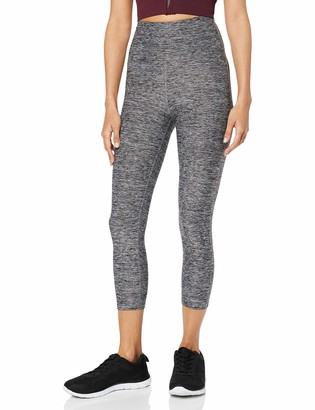 Aurique Amazon Brand Women's High Waisted Capri Sports Leggings