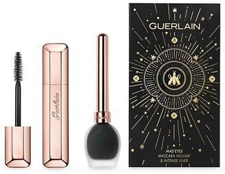 Guerlain Mad Eyes 2-Piece Volumizing Mascara & Liquid Eyeliner Set - $77 Value