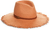 Treasure & Bond Frayed Rancher Hat with Buckle