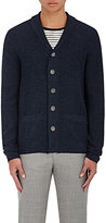 Barneys New York Men's Marled Merino Wool Cardigan
