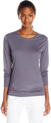 Carhartt Women's Long Sleeve Burnout Jersey Tee T-Shirt