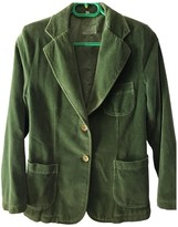 Closed Green Cotton Jacket for Women Vintage
