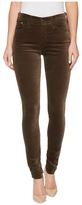 AG Adriano Goldschmied The Velvet Farrah Skinny in Dried Seaweed Women's Jeans