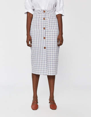 Farrow Ceciliane Check Skirt