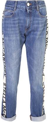 Stella McCartney Strap Detailed Skinny Boyfriend Jeans