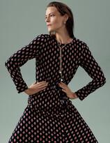 Thumbnail for your product : Marks and Spencer Geometric Belted Midaxi Column Dress