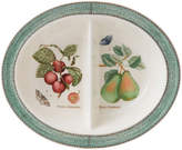 Wedgwood Sarah's Garden Oval Divided Dish Green 28cm